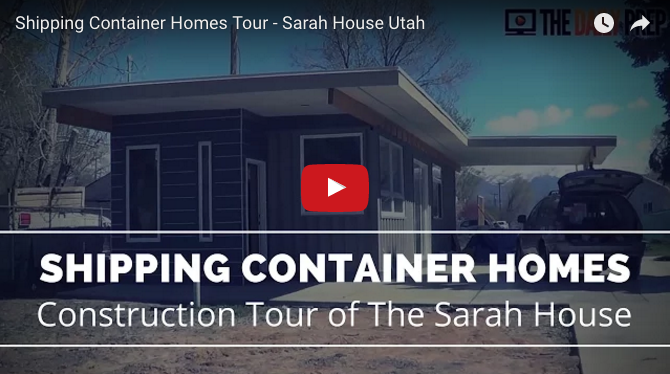 Shipping Container Homes Utah Sarah House