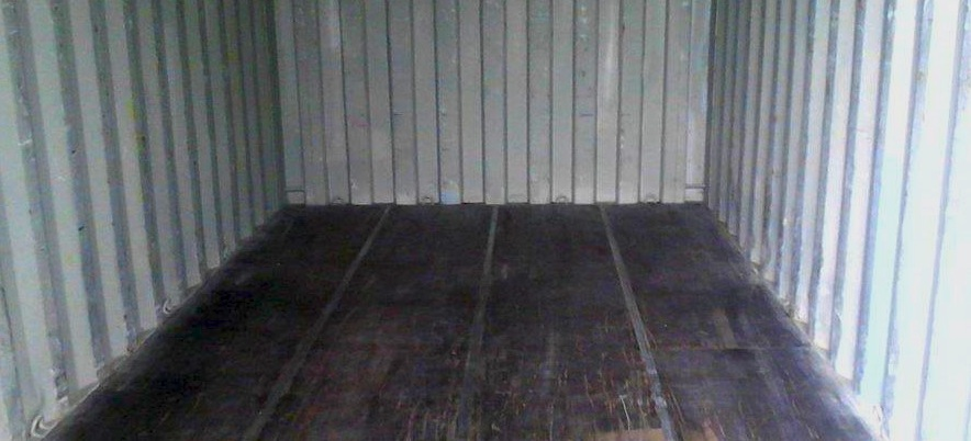 Shipping Container Floor Pesticides