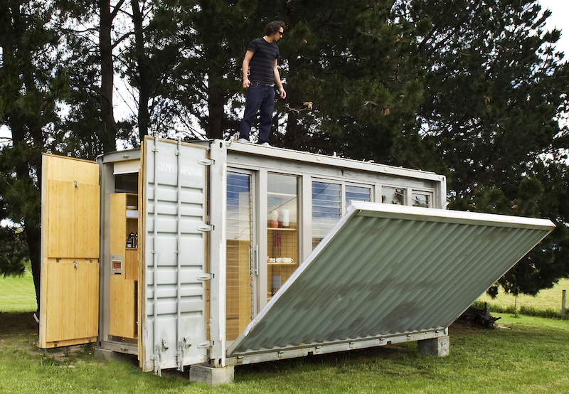 Natural Bug Out Shelter : Are shipping containers good bug out shelters homestead