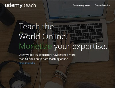Teach Udemy Course