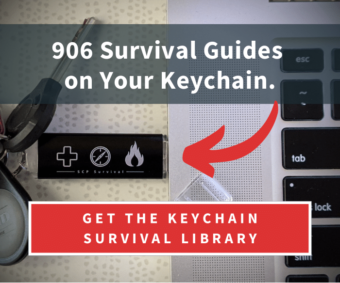 Keychain Survival Library Sticky Sidebar (SCP)-1